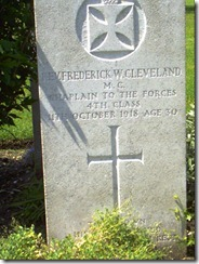 Frederick Walter Cleveland Grave