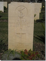 John Davies Grave